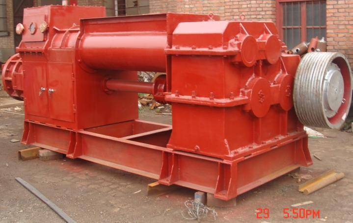 vacuum clay brick machine, clay brick making machine 0086-15890067264
