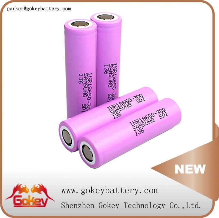 Samsung 30Q 3000MAH 3.7V 15A LI-ION BATTERY CELL