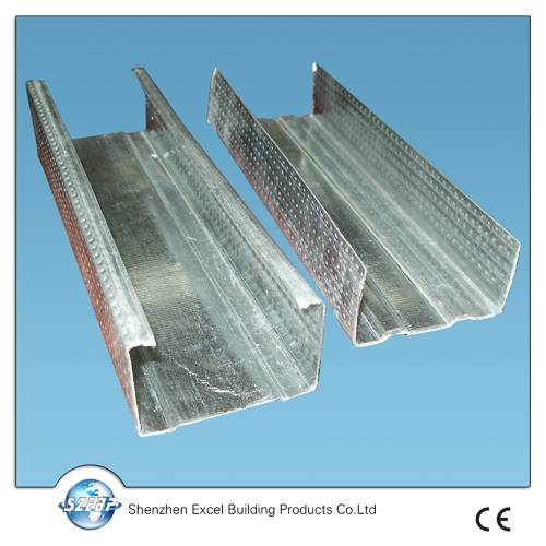 China Galvanized steel channels for ceiling suspensions