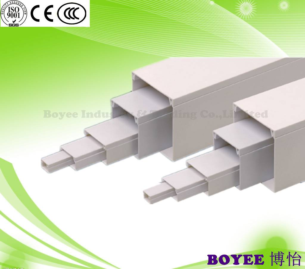 PVC Trunking / PVC Cable Duct/ electrical duct/Electrical trunking