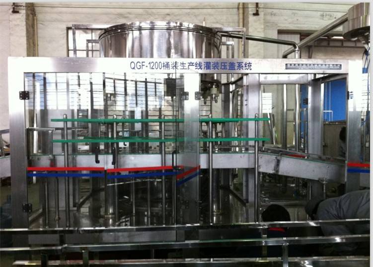 (Qgf-1200 )Full-Automatic 5 Gallon Barrel Bottling Machine