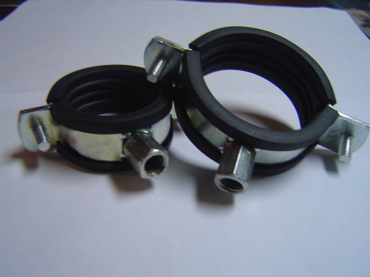 We are manufacturers & exporters of GI Pipe support clamps from India
