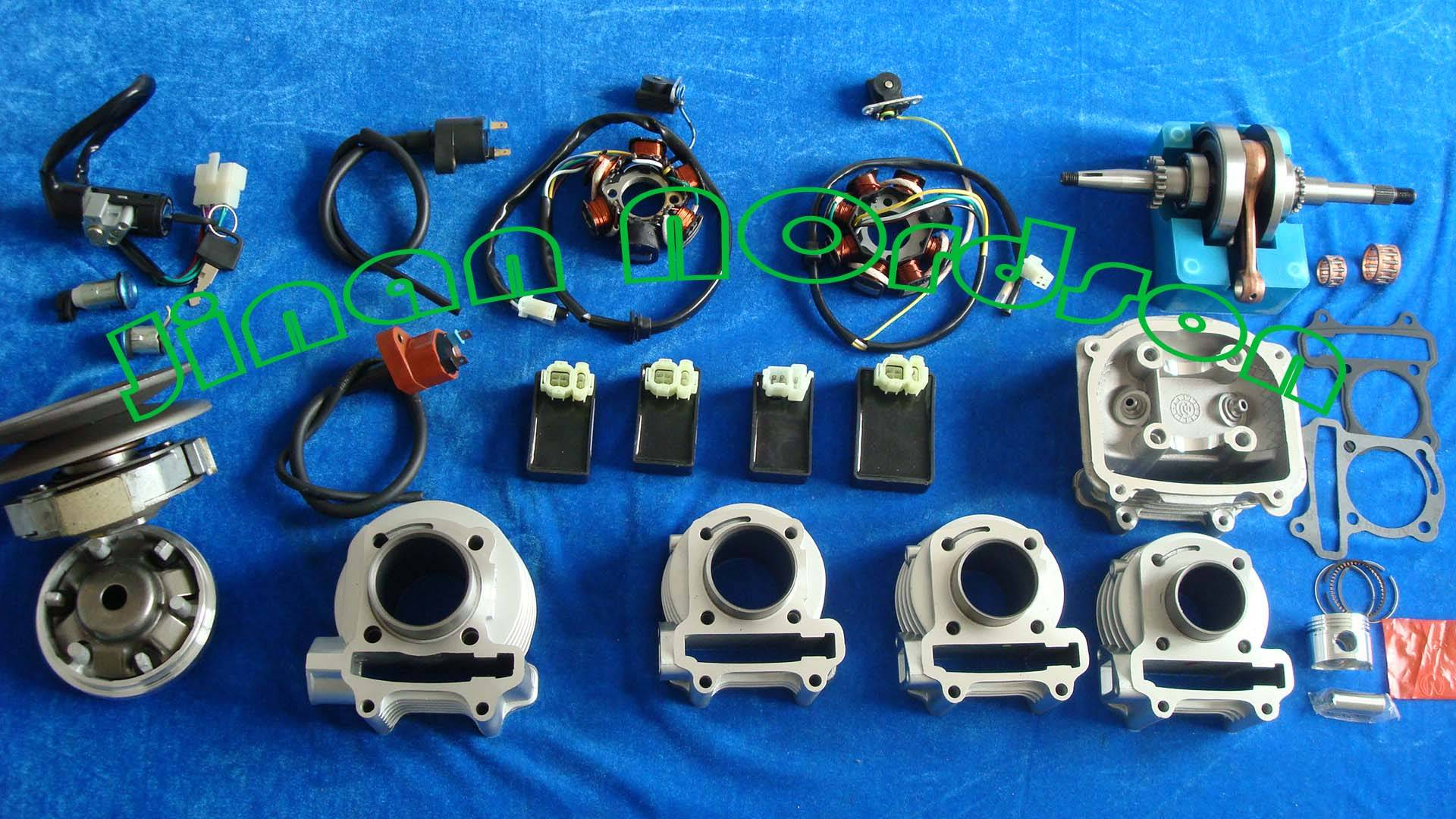 GY6 spare parts