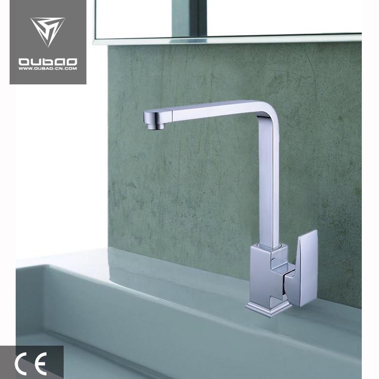 Deck Mount Kitchen Water Tap Types Polished Bar UPC Stander Faucet
