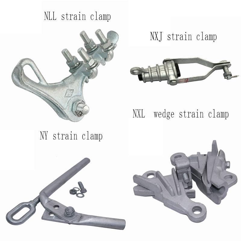 strain wedge clamp