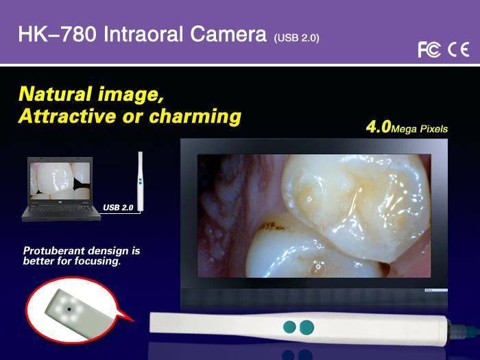 HK-780 4.0 MEGA PIXELS DENTAL INTRAORAL CAMERAS USB CONNECTION
