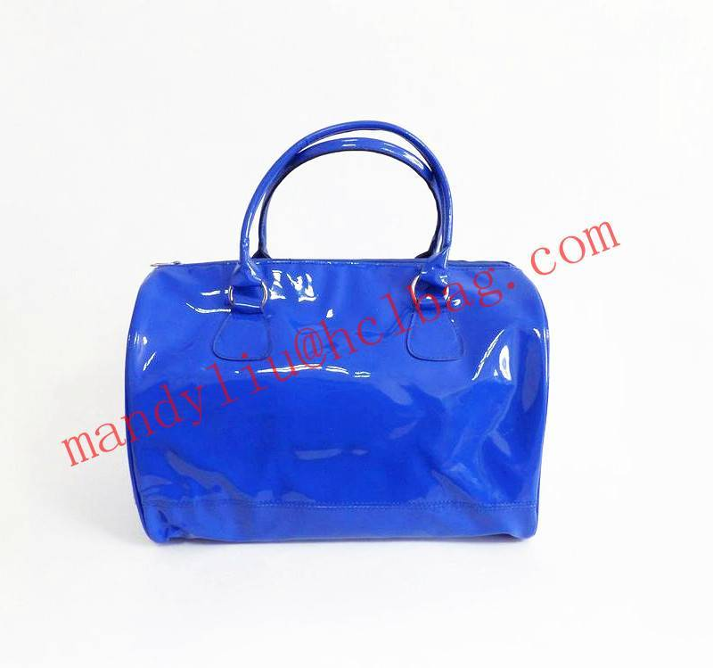hot fashion pu handbag lady tote bag