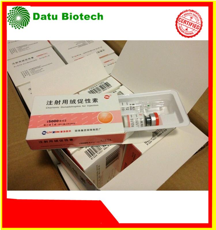 99% Purity Human Chorionic Gonadotropin (HCG) 5000iu/2000iu10vials Kit For Injection