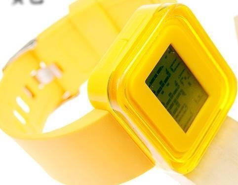 Electronic clock girl's clocks digital wrist wacth
