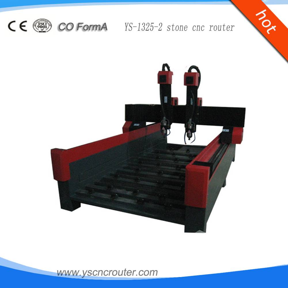 YS-1325-2 Marble Stone cnc router carving stone cnc machine stone engraving cnc router
