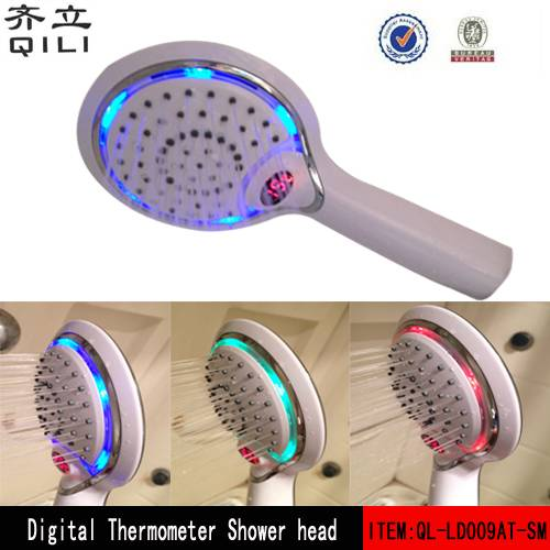Temperature Display LED Shower Head