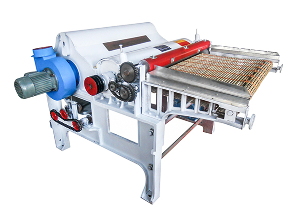 GM250 one roller textile/cotton/yarn fabric waste recycling machine