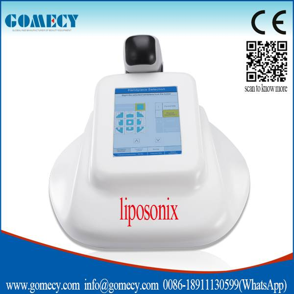 New design mini size supersonic liposonix fat reduce body shape machine