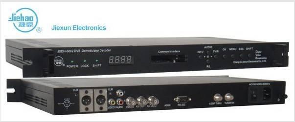 FTA Satellite DVB-T Demodulator Decoder