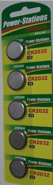 CR2032 lithium button cells 3.0V