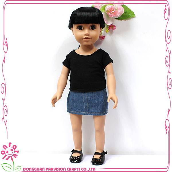 Plastic kids toy doll 18 inch fashion doll