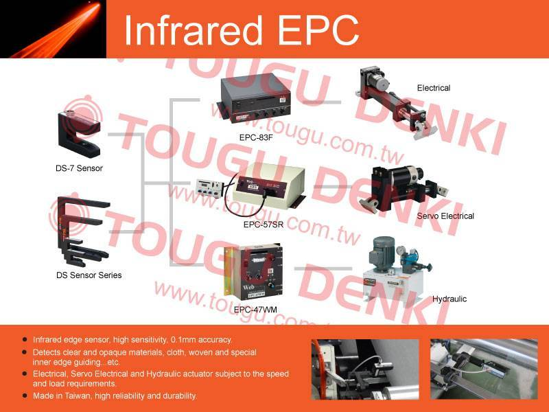 Infrared Edge Guiding (Infrared EPC)