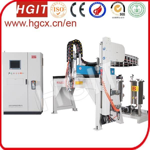 Gluing machine for sealing strips