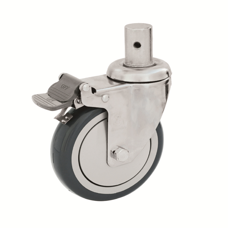 87 series precision silent medical casters