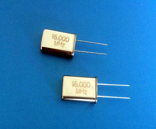 DIP Crystal Resonator HC-49/U 16.000MHz