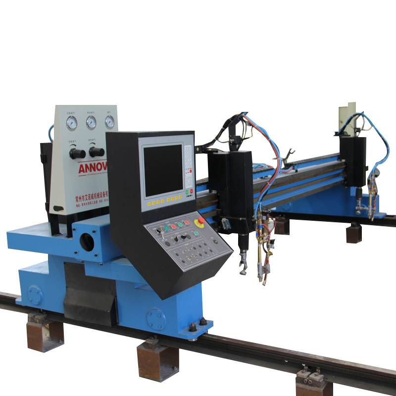 CNC Shape Dual Side Drive Plasma Cutter with Table