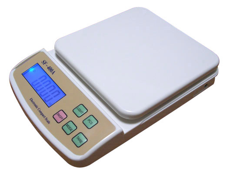 LCD Display Automatic Platform Food Kitchen Weight Scale