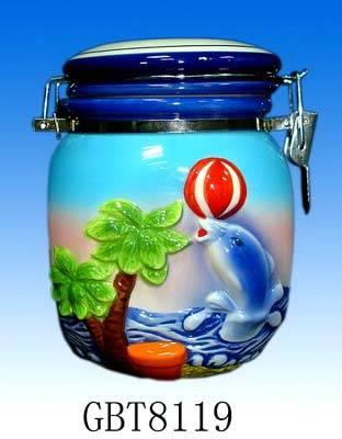 sell Ceramic airtight storage jar / sealing pot