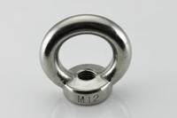 China direct factory supplier of stainless steel eye nut,AISI304,AISI316,A2,A4