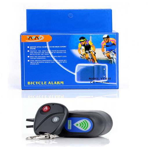 Wholesale 2015 New Products Upgraded More Easy With Remote Wireless Bicycle Alarm
