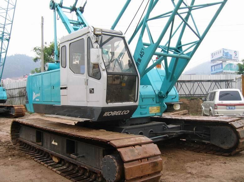 kobelco 7045 45ton used crawler crane for sale