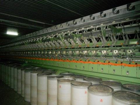 RIETER OPEN END PLANT 1993 YOC (77 SETS RU 014 OPEN END MACHINES,CARDS,DRAWFRAMES,BLOWROOM ETC...)