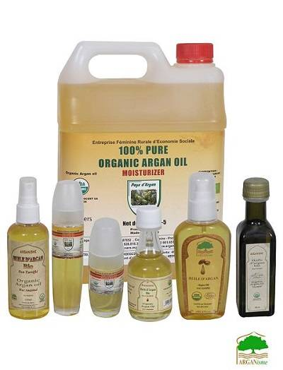 wholesale supplier of bulk 100% Moroccan argan oil