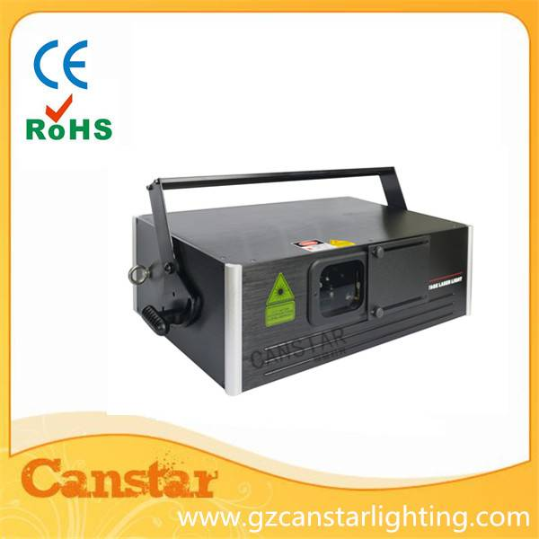 OEM mini RGB full color Animation 2w laser light