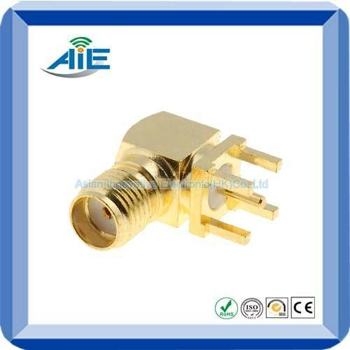 SMA right angle female adapter