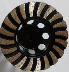 4-9 Diamond Cup Wheel, Diamond Grinding Wheel For Stone Concret