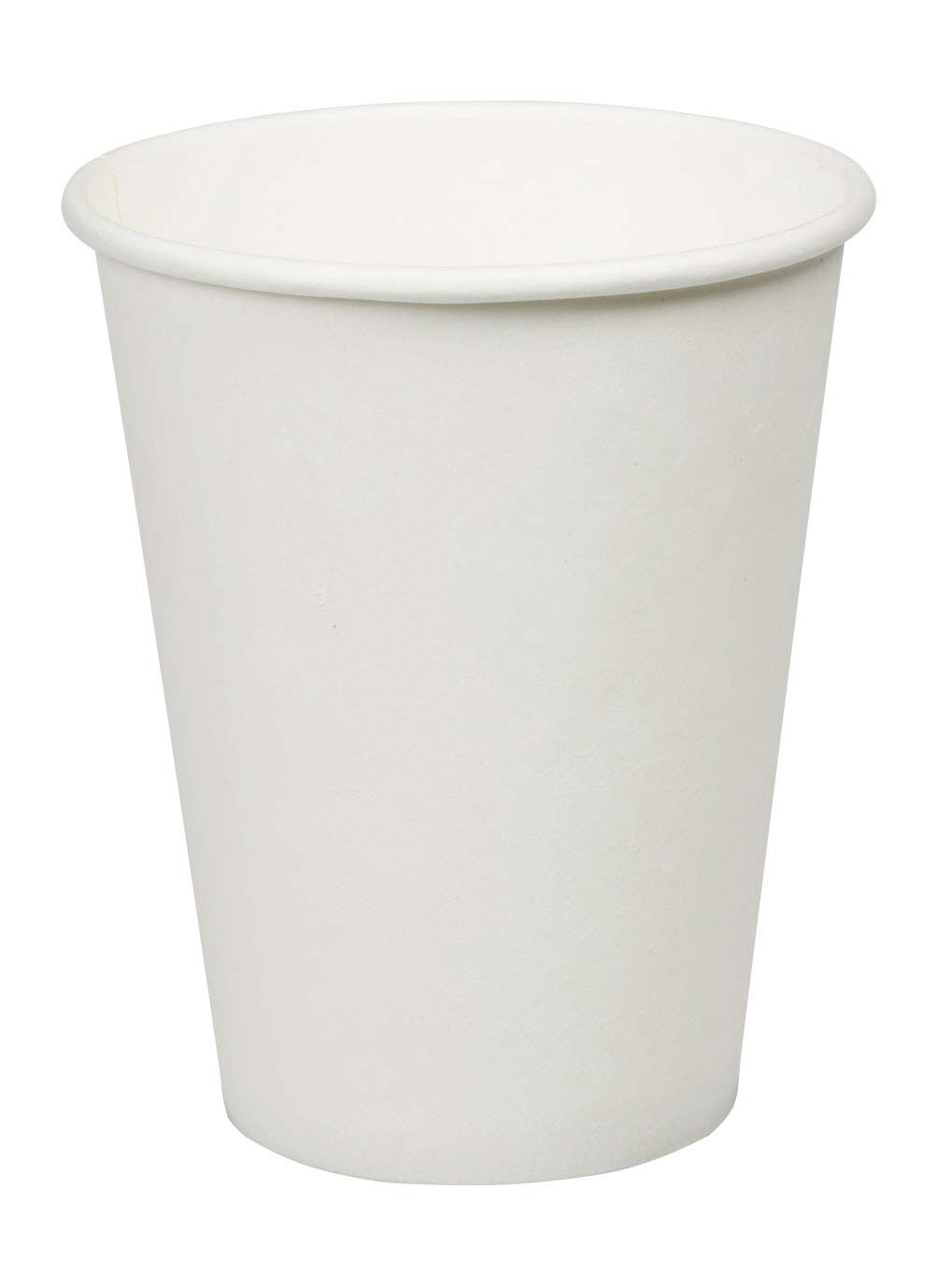 12oz Plain Single Wall Paper Cup for Hot Beverage