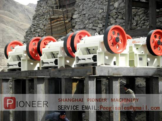 sell JCE1303 JCE series Jaw crusher
