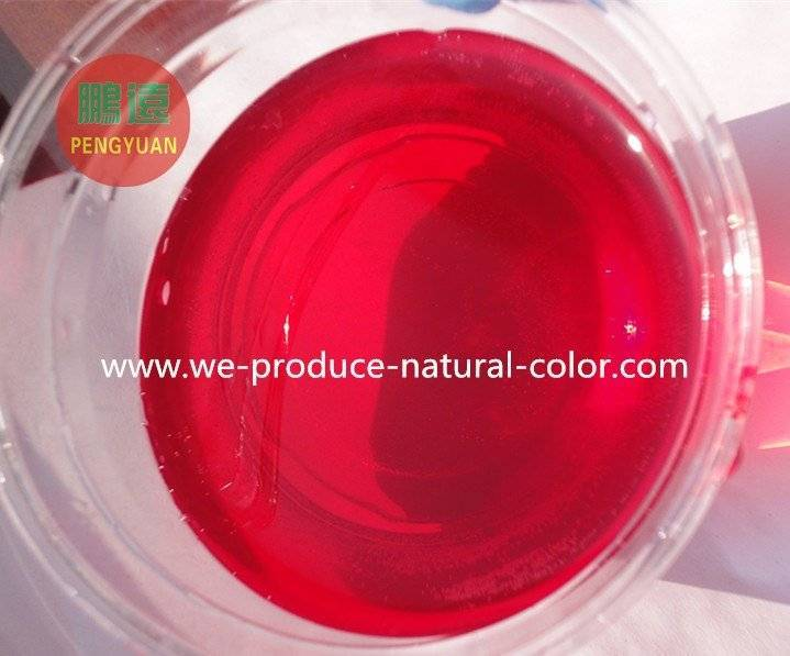 Hot sale chinese water soluble natural food colorant