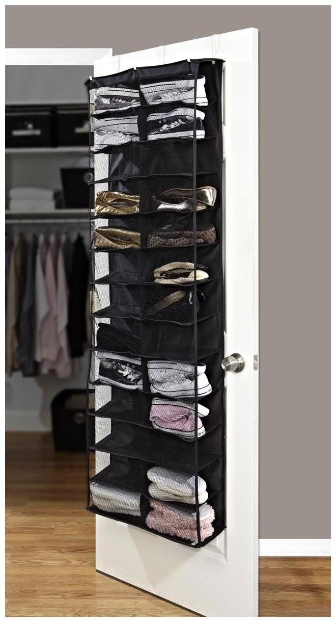 26 pair shoe rack , pocket Hanging Organizer/Rack, Door Storage, Door Space Saver, Door Storage Orga