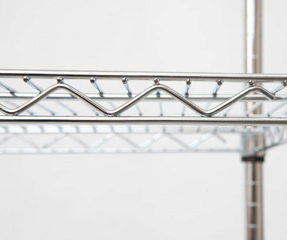 Selling chrome wire shelving