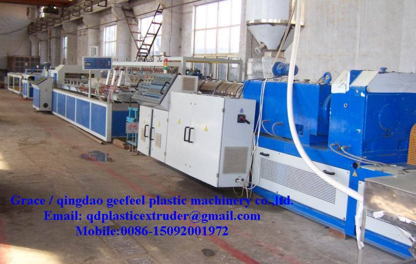 PVC Profile Production Line / PVC Profile Extrusion Line / PVC Profile Machine