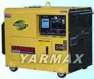 YM6700T-A Digital Air-cooled Diesel Generator