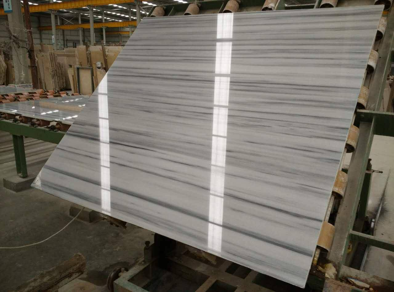Star White marble natural stone product slab