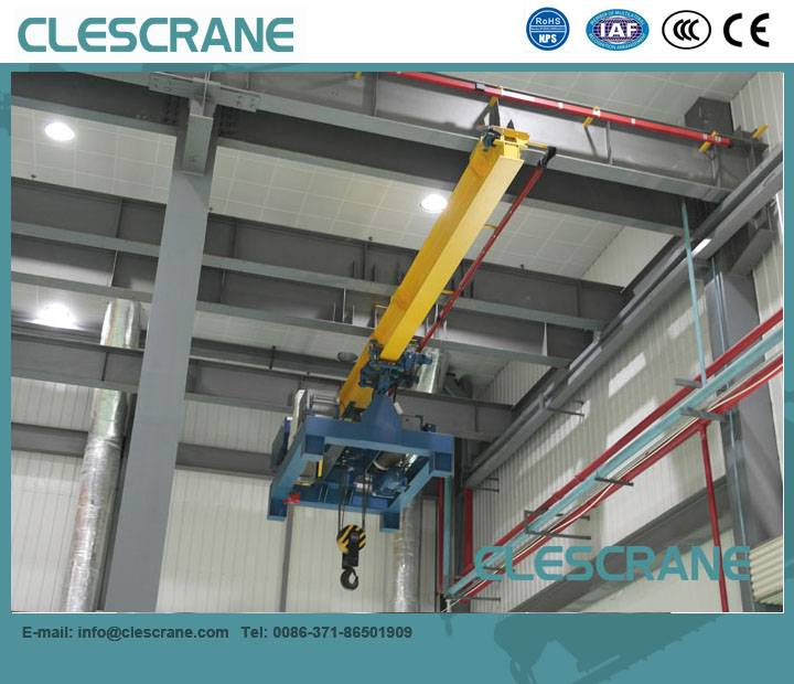 CHX Series promotion single girder suspension overhead crane from crane hometown $1000-$8000