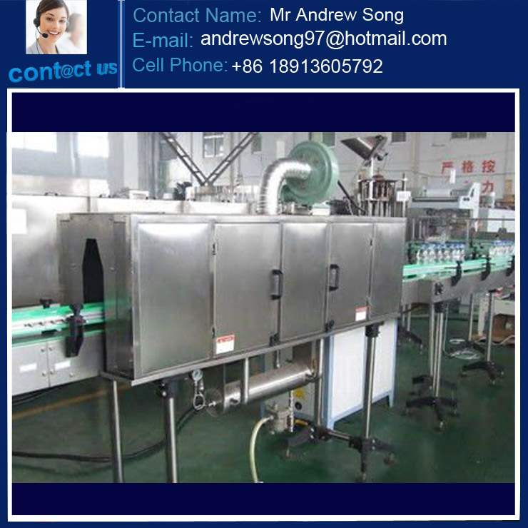Plastic Bottle Steam Shrink Machine
