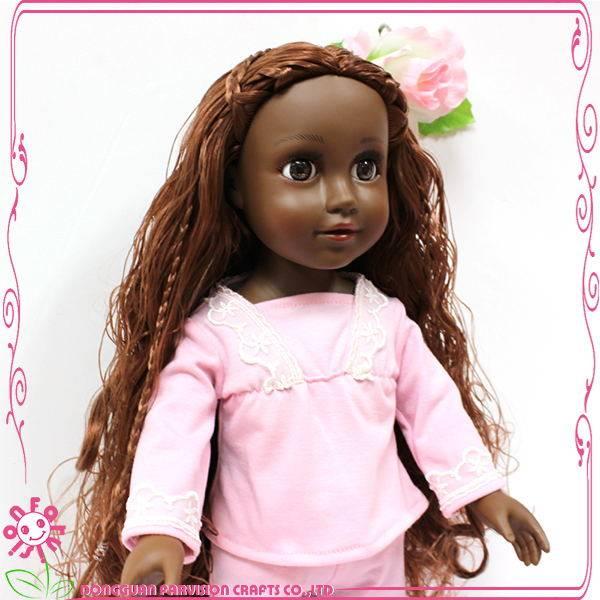 Fashion girl plastic doll,Plastic mini vinyl craft dolls
