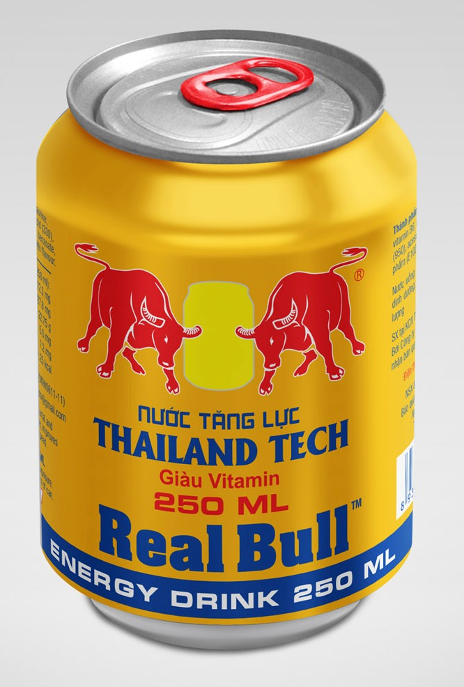RealBull energy drink, 250ml energy drink