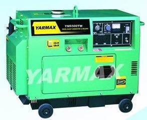 YM6500TW Diesel Welding Generator