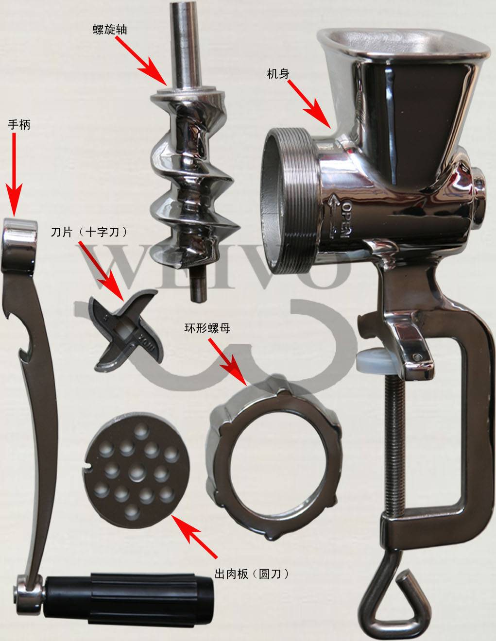 #5 Meat Mincer/ Meat Grinder/ Meat Chopper/ Meat Processing Equipments