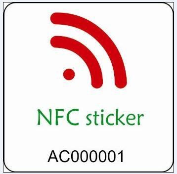 13.56MHz RFID Mifare NFC Sticker/Tag for Mobile ePayment / E-Ticket / E-Wallet
